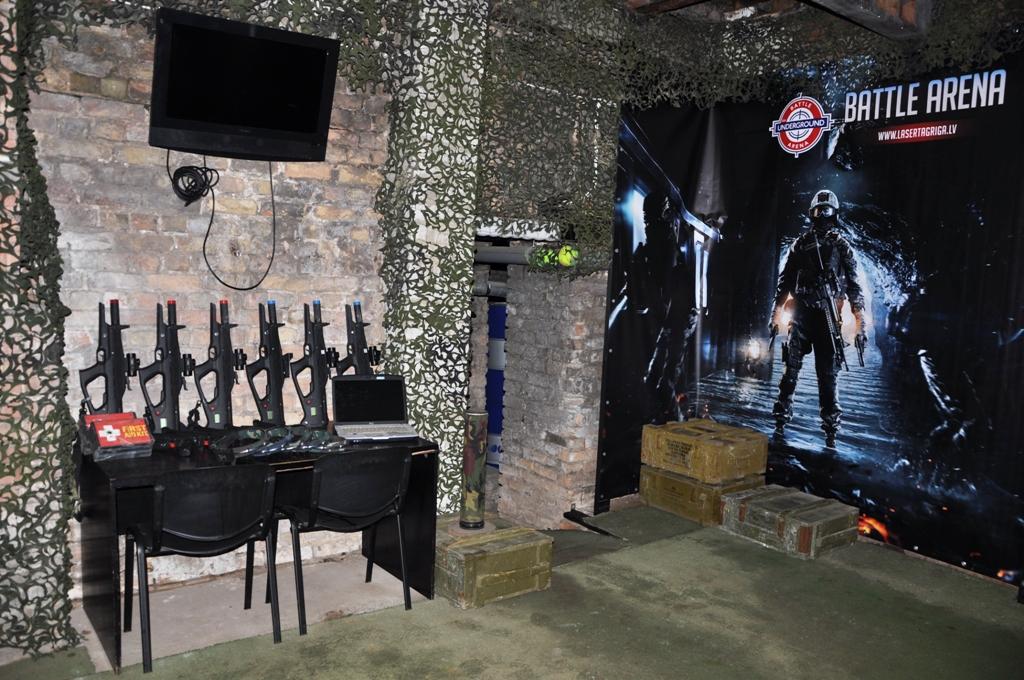 Lasertag Battle Arena Underground